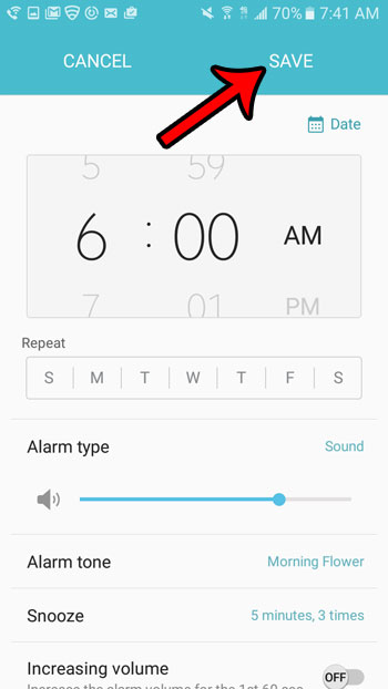 How To Set An Alarm On A Samsung Galaxy On5 Solve Your Tech