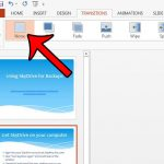 how to remove a transition in powerpoint 2013