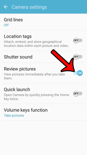 how to preview pictures on the samsung galaxy on5