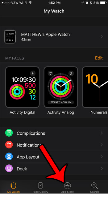 where to find apple watch apps