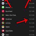 how to view storage usage on the apple watch