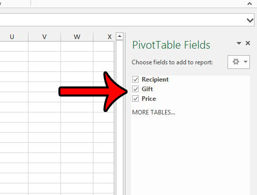 how to create a christmas list in excel