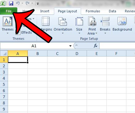 how to change paper size to a3 in excel 2010