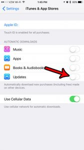 How Can I Stop My iPhone Apps From Updating Automatically?