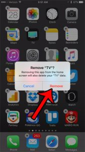 How to Delete the TV App on an iPhone 7