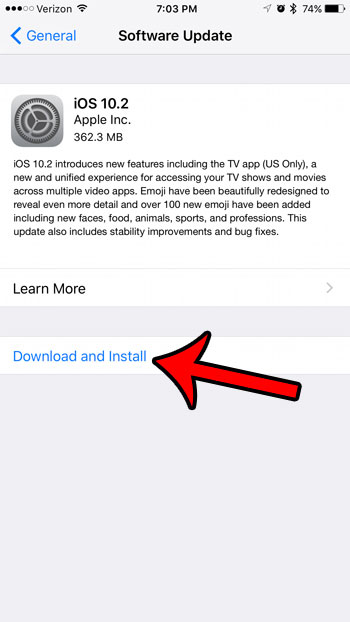 how to get the tv app on your iphone 7 by installing the ios 10.2 update