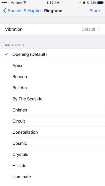how to tell what the ringtone is on your iPhone 7