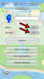 How to Turn Off Sounds in Super Mario Run on an iPhone