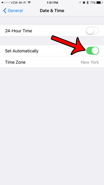 why your iPhone isn't displaying the correct time