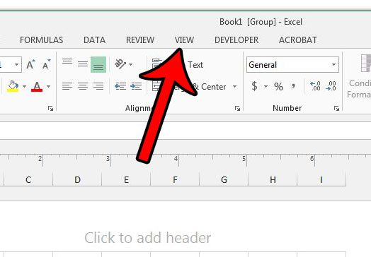 How to return all worksheets in an excel workbook back to normal open the view menu ccuart Choice Image