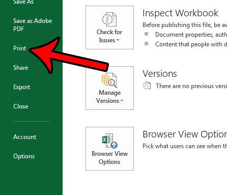How to Save a Spreadsheet as a One Page PDF in Excel 2013
