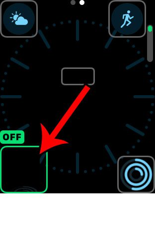 how to remove a complication from an apple watch face
