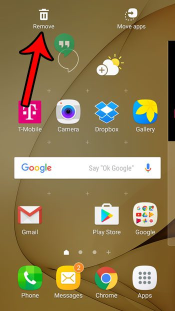 How to Remove Apps from the Home Screen in Android