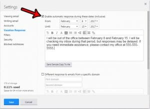 How to Set an Out of Office Reply in Yahoo Mail