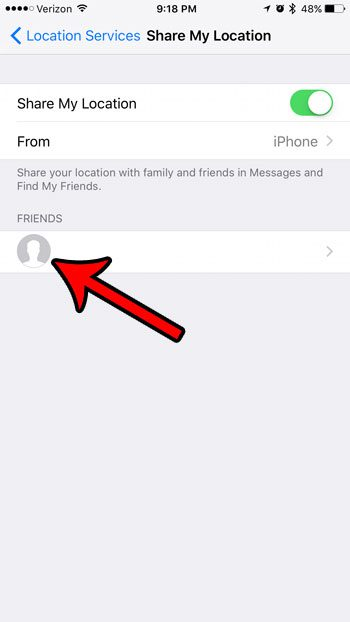 How to Stop Sharing Your Location With Someone on an iPhone 7