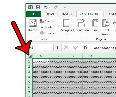 how to resize cells in excel 2013