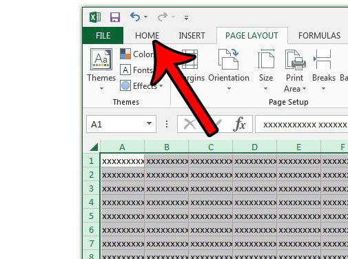 how to apply wrap text to an entire spreadsheet