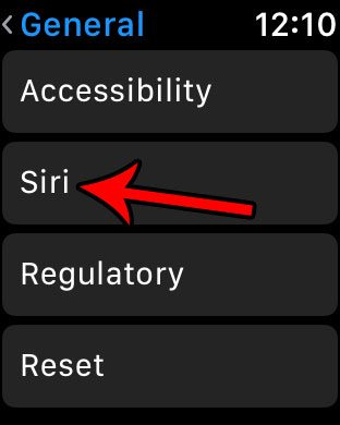 how to disable hey siri on the apple watch
