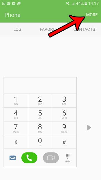 how to stop number sounds when dialing a number