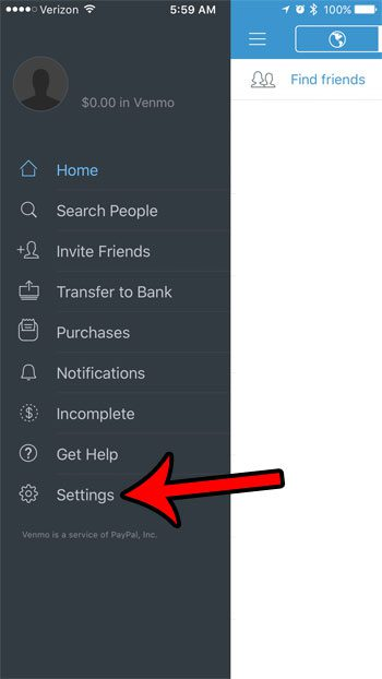 ow to add security to venmo