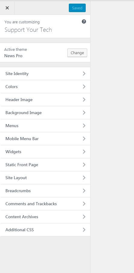 studiopress sites mobile menu bar