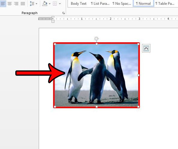 how to edit a picture border in word 2013