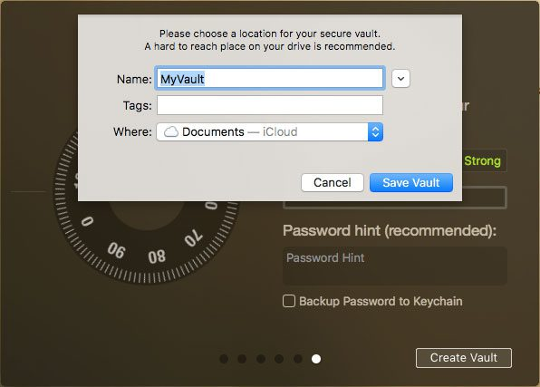 macbook file and folder password protection
