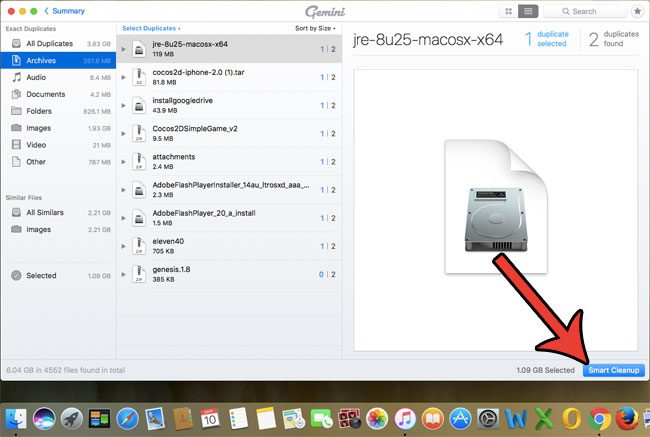 removing duplicate mac files