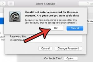 How to Turn Off the Password on a MacBook Air
