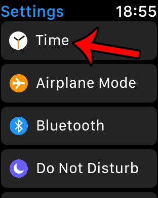 can i set apple watch time ahead of real time