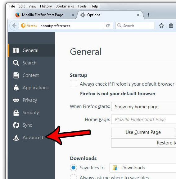 how to adjust the firefox automatic updates