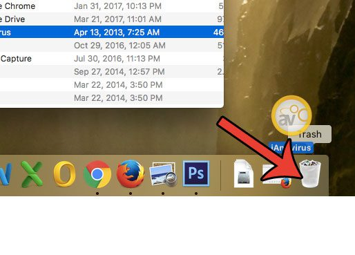 how to uninstall an application on a mac