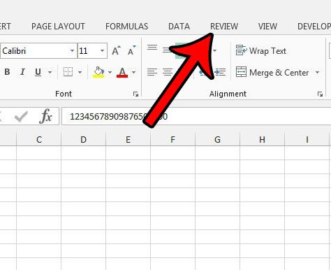 add red triangle with comment in excel 2013
