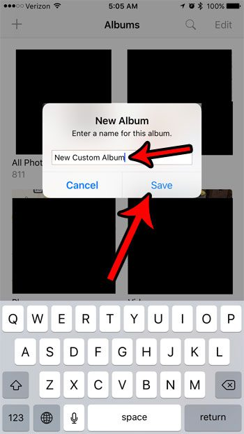 how to organize photos on the iphone 7