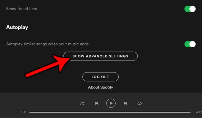 keep spotify open when you click the red x