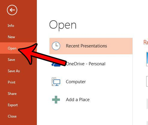 can i open a word document in powerpoint 2013