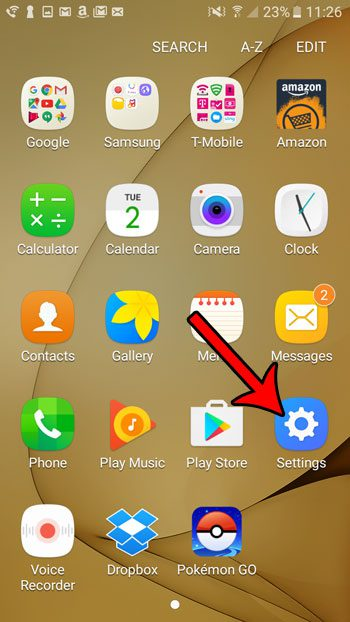 how to disable apps on samsung galaxy on5