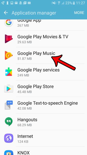 disable default android apps
