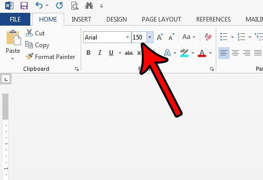 how to make bigger than 72 pt fonts in word 2013