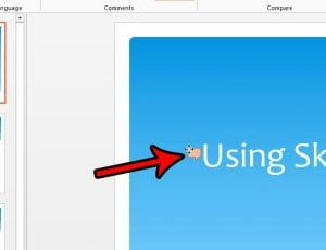 how to move a comment in powerpoint 2013