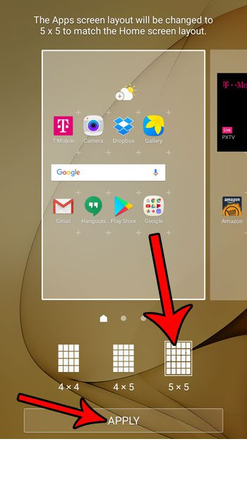 how to change the home screen layout android marshmallow