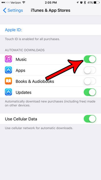 How to Turn On Automatic Music Downloads in iOS 10 - Solve Your Tech