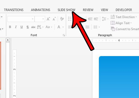 how to turn on or turn off presenter view in powerpoint 2013