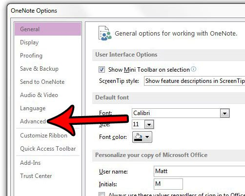 how to edit a onenote signature