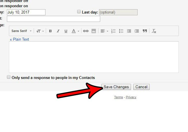 change the reply behavior in gmail