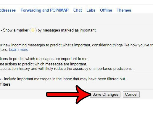 show unread at top in gmail