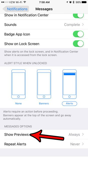 How to Hide Text Message Content from the iPhone Lock Screen - Solve