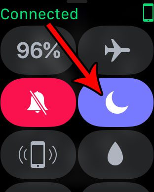 turn off the crescent moon icon