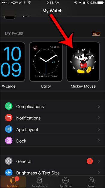 select mickey mouse
