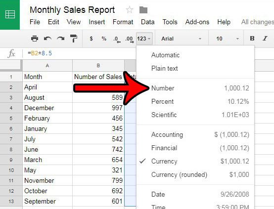 How to Remove the Dollar Sign in Google Sheets - Solve Your Tech